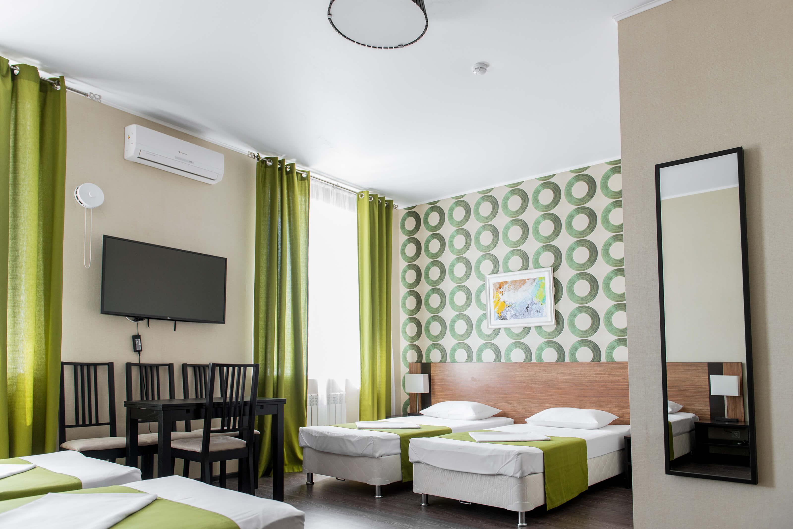 просторный номер в гостинице альметьевска